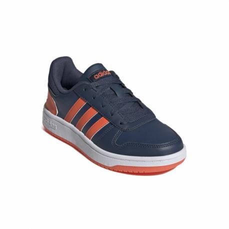 Juniorská rekreační obuv ADIDAS-Hoops 2.0 crew navy / true orange / cloud white