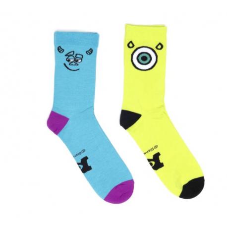 Ponožky ADIDAS-Monster 2pp Sox SSLIME / SUPCYA / SHOPUR