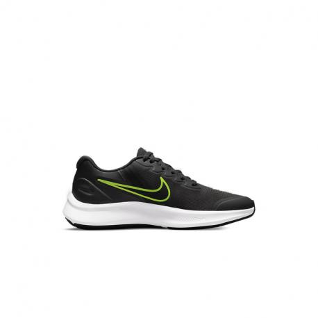 Juniorská rekreační obuv NIKE-Star Runner 3 anthracite / green / black 2776