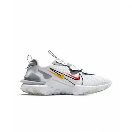 Pánská rekreační obuv NIKE-React Vision white / smoke grey / black (EX)