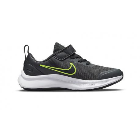 Dětská rekreační obuv NIKE-Star Runner 3 anthracite / green / black 2777