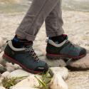 Pánska turistická obuv nízka TREZETA-HURRICANE EVO LOW WP BLUE RED -