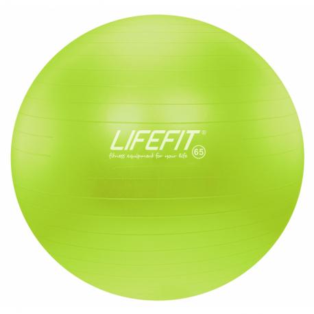 Fitness lopta LIFEFIT-Gym. lopta anti burst, sv.zelená 65 cm TRL