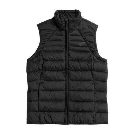 Dámska vesta na skialp 4F-WOMENS JACKETS H4Z21-KUDP001-20S-DEEP BLACK