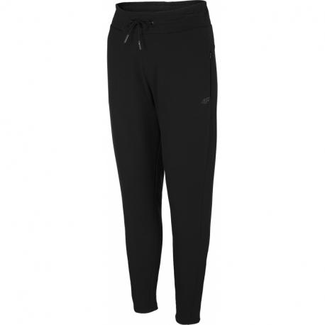 Dámske teplákové nohavice 4F-WOMENS SWEATPANTS H4Z21-SPDD015-20S-DEEP BLACK