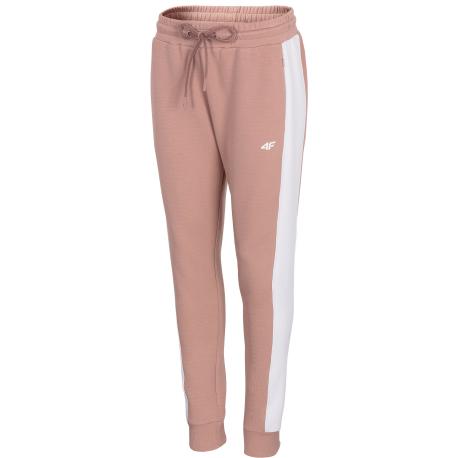 Dámske teplákové nohavice 4F-WOMENS SWEATPANTS H4Z21-SPDD013-65S-PALE CORAL