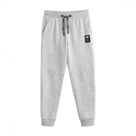 Chlapecké teplákové kalhoty 4F-BOYS TROUSERS JSPMD003-27M-Grey
