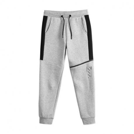 Chlapecké teplákové kalhoty 4F-BOYS TROUSERS JSPMD006A-23M-Grey