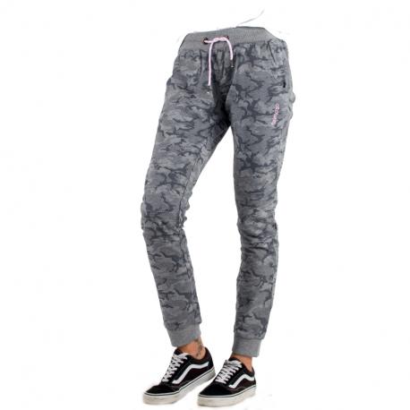 Dámske teplákové nohavice AUTHORITY-SALAMNY L grey