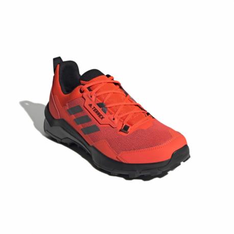 Pánská nízká turistická obuv ADIDAS-Terrex AX4 solar red / grey five / core black (EX)