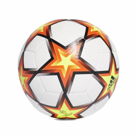 Futbalová lopta ADIDAS-UCL TRN PS WHITE/SOLRED/SYELLO