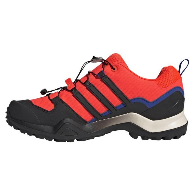 Pánska nízka turistická obuv ADIDAS-Terrex Swift R2 GTX solar red/core black/wonder white -