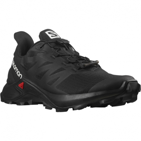 Dámská běžecká trailová obuv Salomon-Supercross 3 W black / black / black (EX)