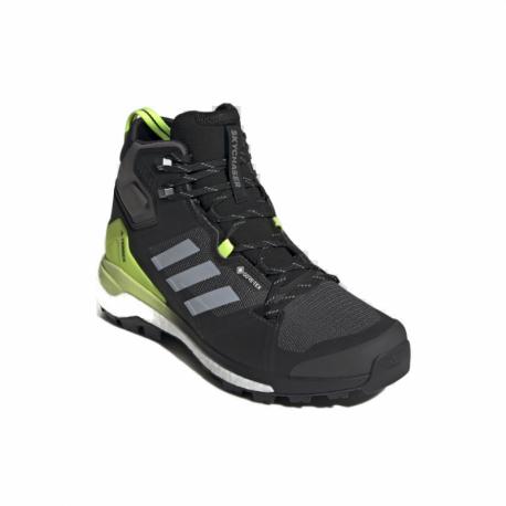 Pánska členková turistická obuv ADIDAS-Terrex Skychaser 2 Mid GTX solid grey/halo silver/black (EX)