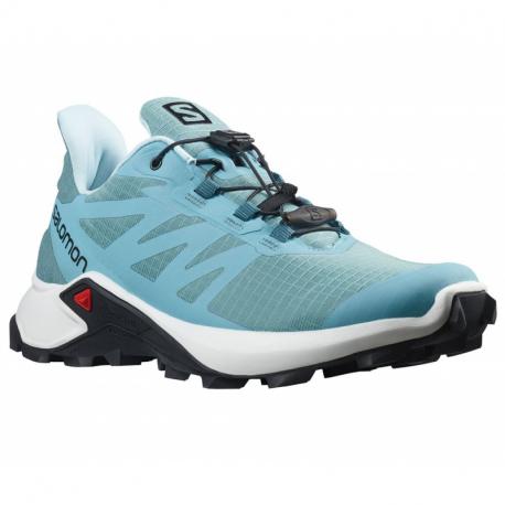 Dámská běžecká trailová obuv Salomon-Supercross 3 W delphinium blue / white / bluestone (EX)