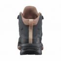 Dámska členková turistická obuv SALOMON-X Ultra 4 Mid GTX W ebony/mocha mousse/almond cream -