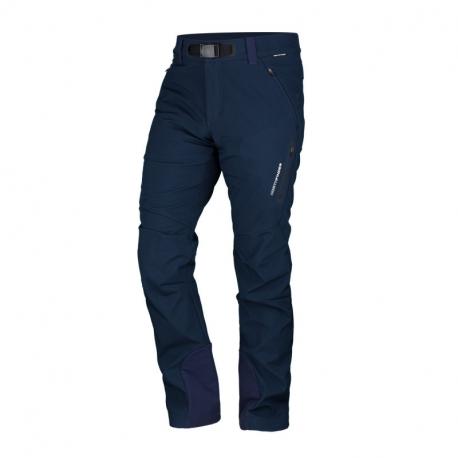 Pánské turistické softshellové kalhoty NORTHFINDER-10K / 5K Javon-darkblue