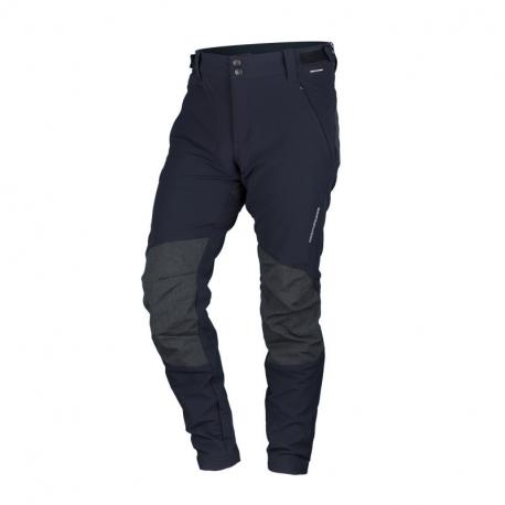 Pánské turistické kalhoty NORTHFINDER-s Rib-strukturou RAUL-black