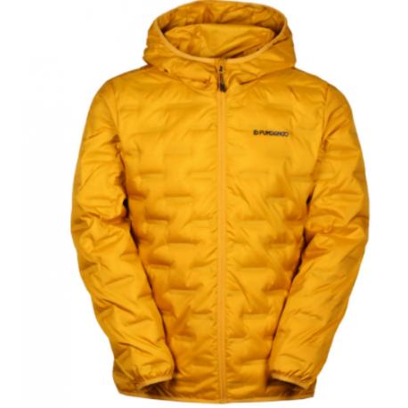 Pánská péřová bunda FUNDANGO-SMOKE Hooded Down Jacket-260-mango