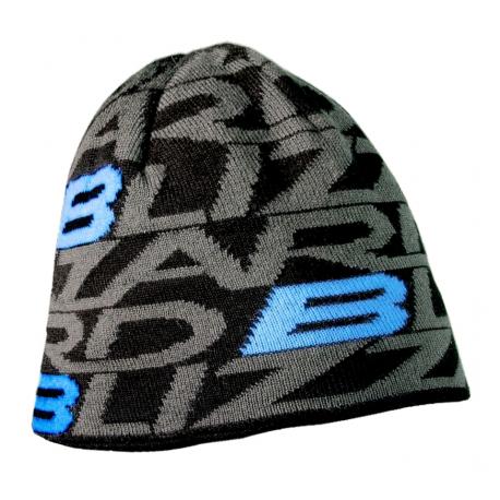 Zimná čiapka BLIZZARD-Dragon cap, black/blue