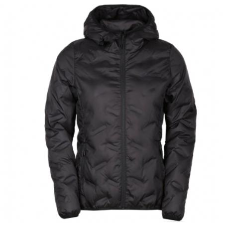 Dámská péřová bunda FUNDANGO-Alše Hooded Down Jacket-890 - black