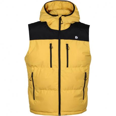 Pánská turistická vesta FUNDANGO-LAUREL Padded Vest-235-dirt yellow