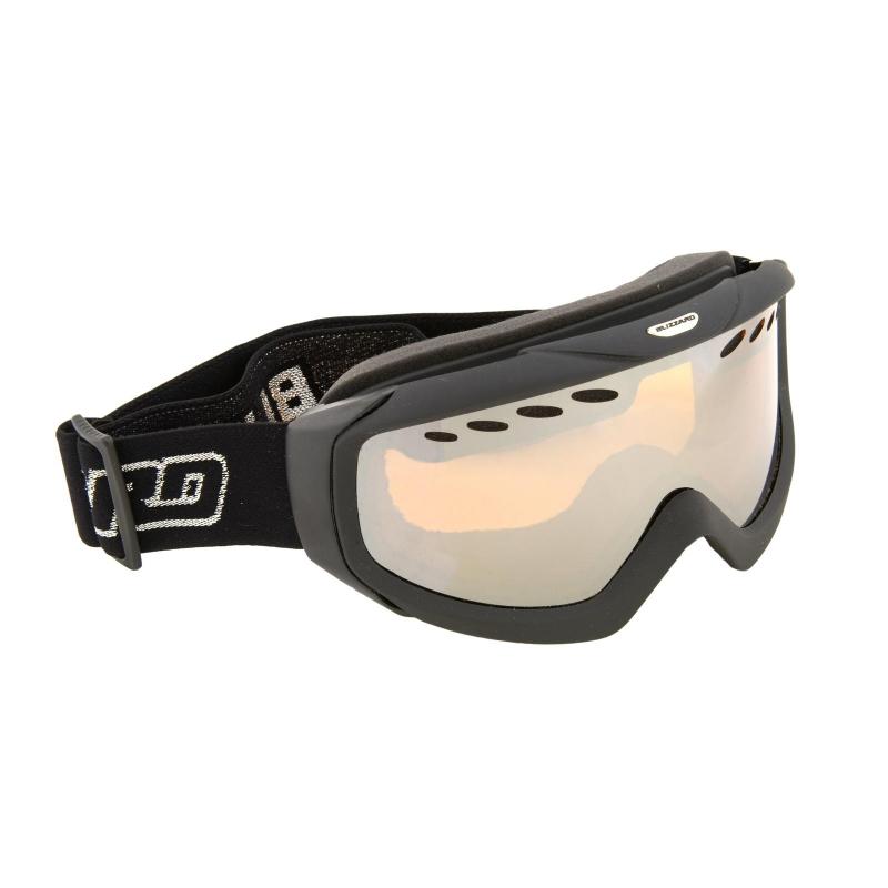 57118e919 Lyžiarske okuliare BLIZZARD BLIZ Ski Gog. 906 MDAVZ, black matt, amber2,  sil. Loading zoom