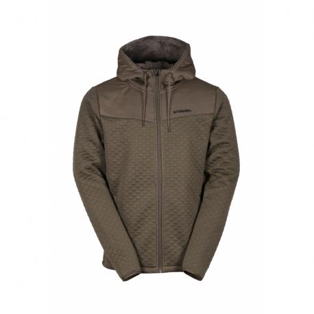 Pánská bunda FUNDANGO-ASHFORD Insulated Fleece Jacket-540 army