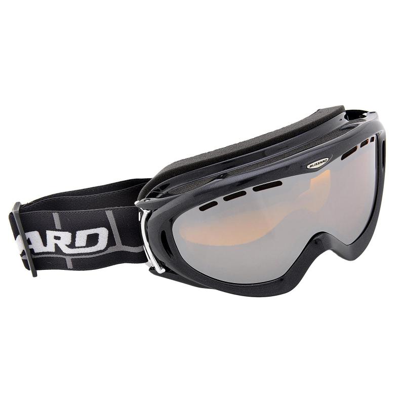 fd13457df Lyžiarske okuliare BLIZZARD BLIZ Ski Gog. 905 MDAVZO, black met., amber2,