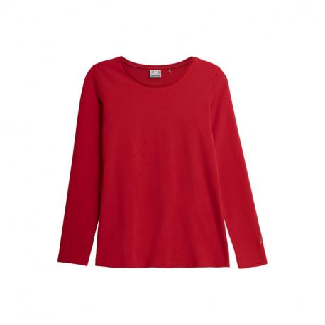 Dámské triko s dlouhým rukávem 4F-WOMENS LONGSLEEVES NOSH4-TSDL350-62S-RED