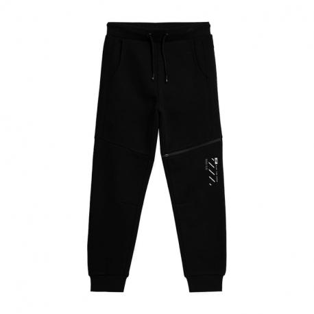 Chlapecké teplákové kalhoty 4F-BOYS PANTS HJZ21-JSPMD006-20S-DEEP BLACK