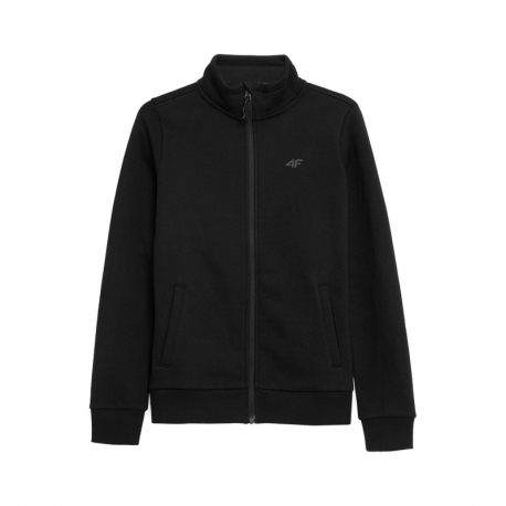 Dámská mikina se zipem 4F-WOMENS Sweatshirts NOSH4-BLD351-20S-DEEP BLACK