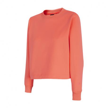 Dámská tréninková mikina 4F-WOMENS Sweatshirts H4Z21-BLD037-70N-ORANGE NEON