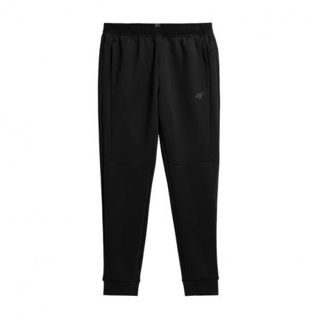 Pánské tréninkové kalhoty 4F-MENS FUNCTIONAL TROUSERS H4Z21-SPMTR011-20S-DEEP BLACK