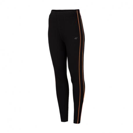 Dámské legíny 4F-WOMENS Leggings H4Z21-LEG011-20S-DEEP BLACK