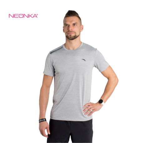 Pánské tréninkové triko s krátkým rukávem ANTA-SS Tee-MEN-852127118-1-Heather Grey