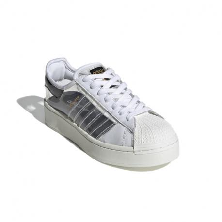 Dámska rekreačná obuv ADIDAS ORIGINALS-Superstar Bold W cloud white/off white/core black