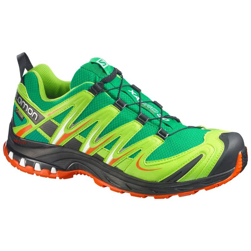 0834f5e14 Pánska trailová obuv SALOMON-XA PRO 3D GTX SINOPLE GREEN/GR/OR -