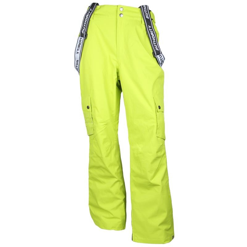 0c0f962225b5 Pánske snowboardové nohavice AUTHORITY-PARION neon -