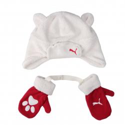 Detská zimná čiapka PUMA-Minicats Set KIDS SET