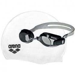 Plavecké okuliare a čiapka ARENA-POOL SET