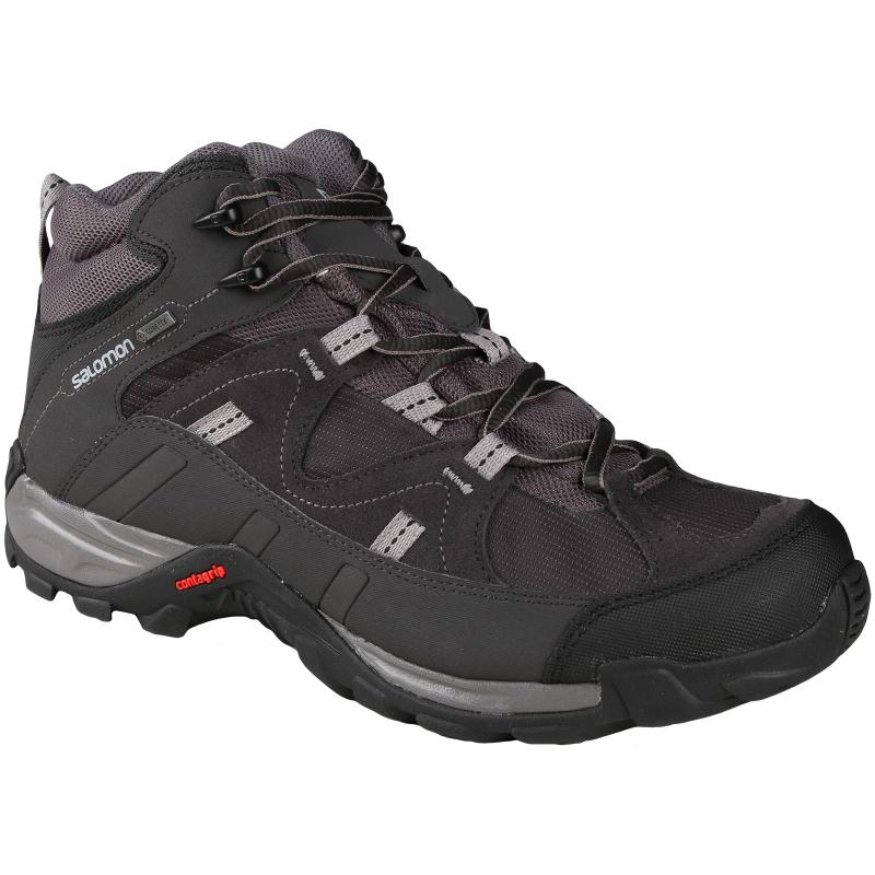 Pánska turistická obuv stredná SALOMON-MANILA MID GTX AUTOBAHN ASPH PTR - 777a9258ff