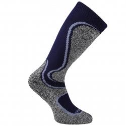 Juniorské lyžařské podkolenky (ponožky) VOXX-Carving boy blue / grey