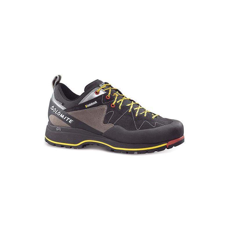 a93fe343583c Pánska turistická obuv nízka DOLOMITE-7D STEINBOCK APPROACH GTX -  black silver -
