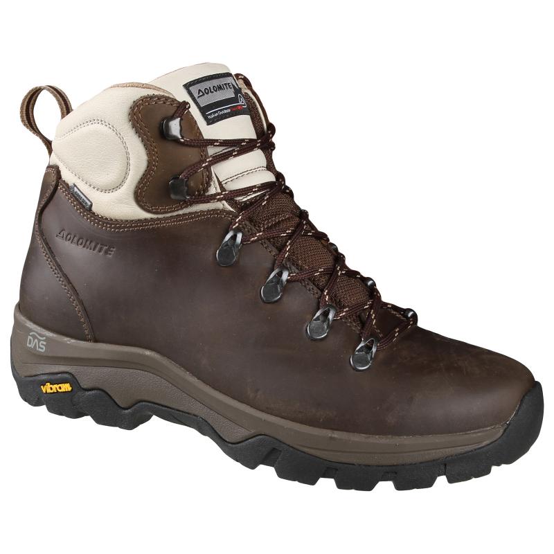 65fd55af7dc1 Dámska turistická obuv vysoká DOLOMITE-7D KITE FG W GTX - brown beige -