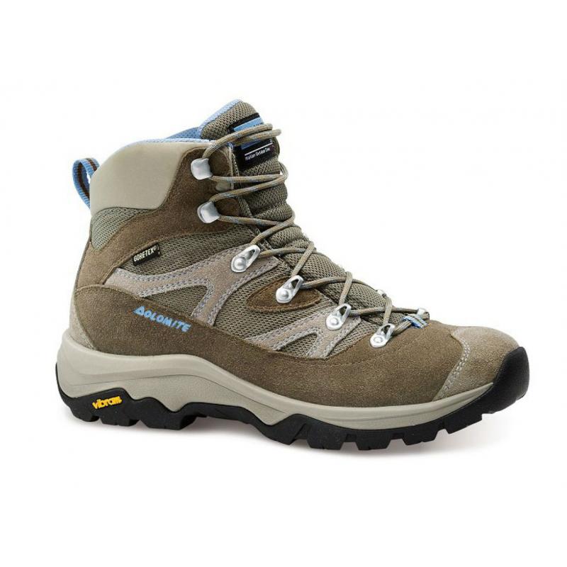 09aed44cc8b4 Dámska turistická obuv vysoká DOLOMITE-7D KITE FG W GTX - brown light blue