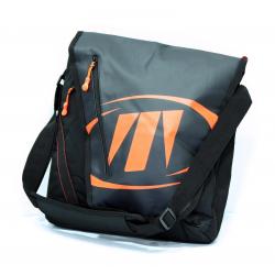 Taška cez rameno TECNICA Notebook bag, black/orange, AKCE
