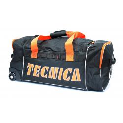 Cestovná taška TECNICA Roller travel bag, black/orange