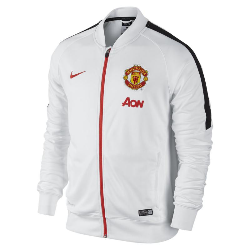 Pánska futbalová mikina NIKE-Manchester United Squad Sideline Knit - 2da47143ea0