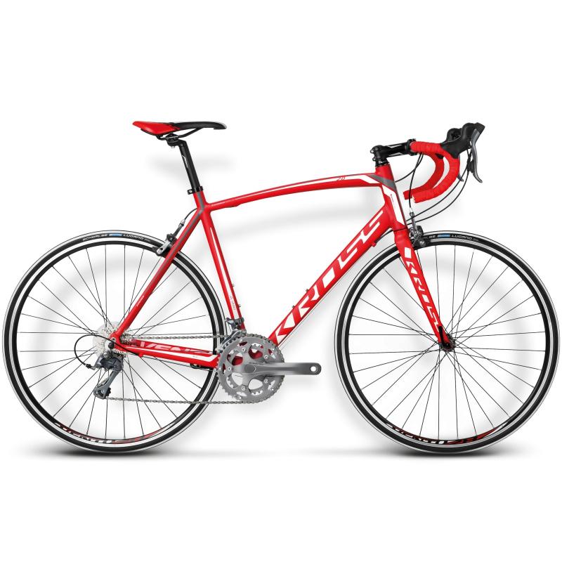 7eea5b7461 Pánsky cestný bicykel KROSS-VENTO 2.0 red white M -